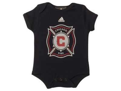 Chicago Fire MLS Newborn Primary Team Logo Creeper