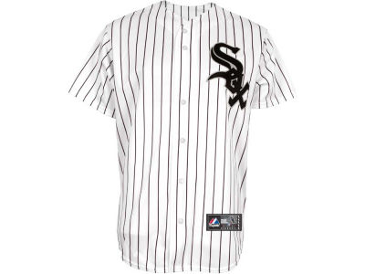 Chicago White Sox MLB Authentic Cool Base 2010 Home Pinstripe On-Field Jersey