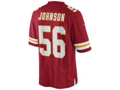 Kansas City Chiefs Derrick Johnson Nike NFL Men's Limited Jersey