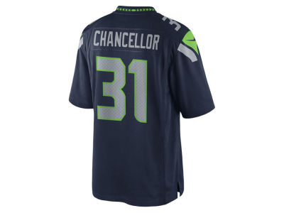 Seattle Seahawks Kam Chancellor Nike NFL Men's Limited Jersey