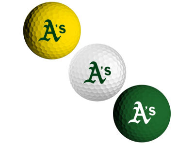 Oakland Athletics 3-pack Golf Ball Set