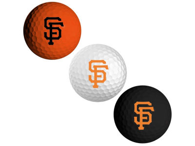 San Francisco Giants 3-pack Golf Ball Set