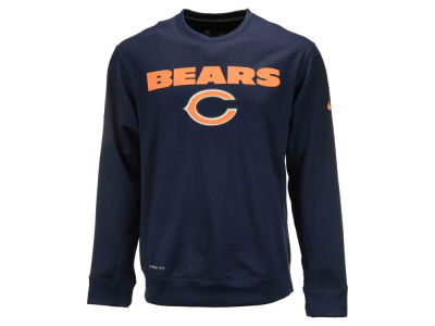 Chicago Bears Nike NFL Men's Nike KO Fleece Crew Sweatshirt