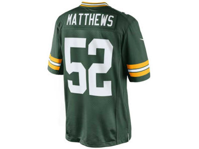 Green Bay Packers Clay Matthews Nike NFL NIKE Limited  Jersey