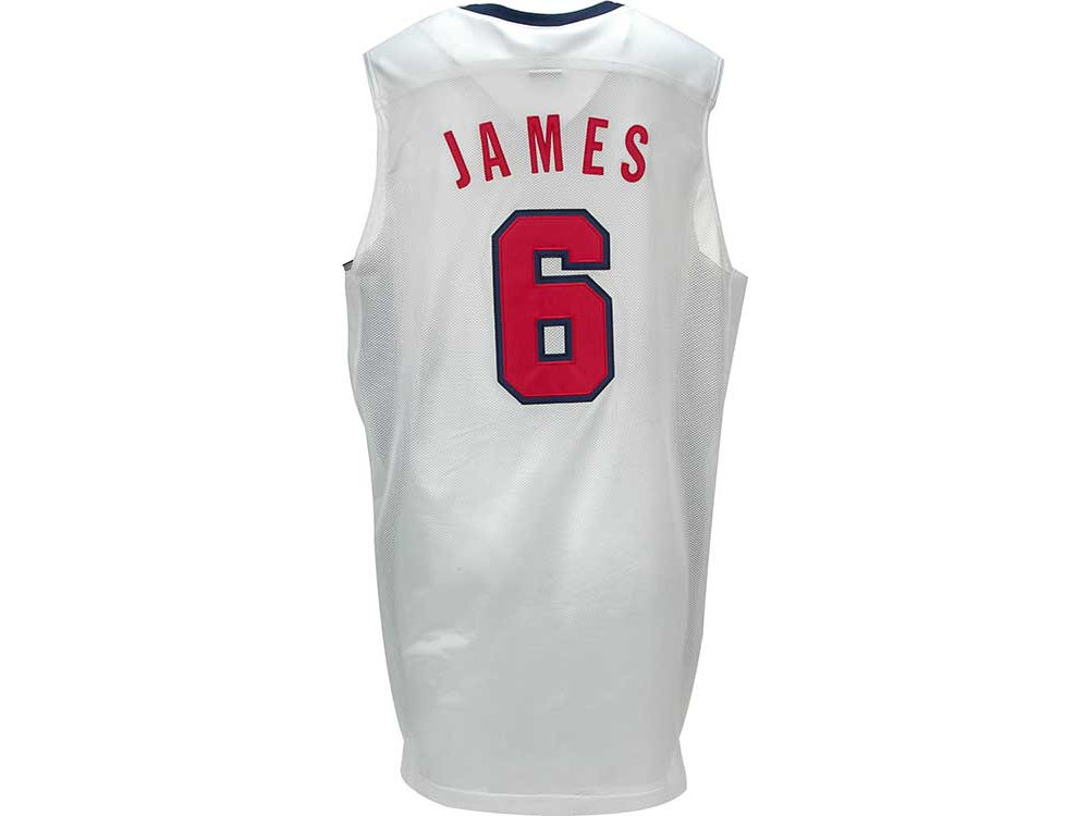 LeBron James Nike 2012 Olympics Authentic Jersey Nike Team USA ... 48b89acefd79