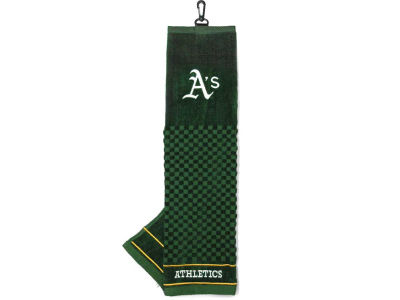 Oakland Athletics Trifold Golf Towel