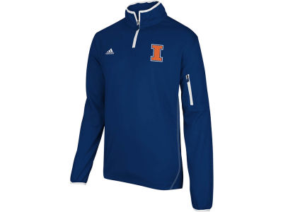Illinois Fighting Illini adidas NCAA Adidas 2012 Football Sideline 1/4 Zip Jacket