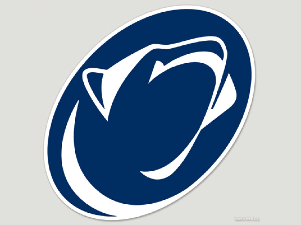 Penn State Nittany Lions Cut Color Decal 8in X