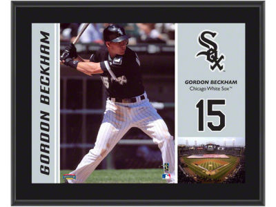 Chicago White Sox Gordon Beckham MLB 8x10 Player Plaque