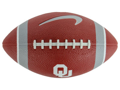 Oklahoma Sooners Nike NCAA Mini Rubber Football