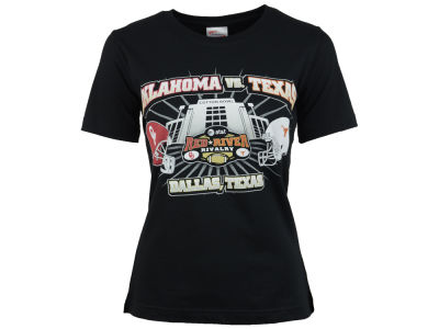 Texas Longhorns NCAA Women's Red River Rivalry T-Shirt