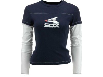 Chicago White Sox MLB Women's Cooperstown Long Sleeve Layered T-Shirt