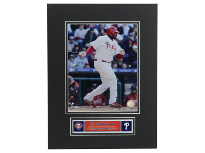 Philadelphia Phillies Ryan Howard MLB Black Matted 8x10 Photo