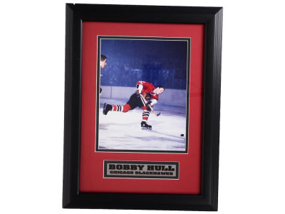 Chicago Blackhawks Bobby Hull Framed Unsigned 8x10 Photo