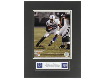 Indianapolis Colts Joseph Addai NFL Black Matted 8x10 Photo