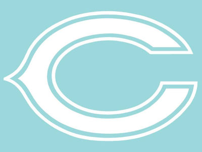 "Chicago Bears Die Cut Decal 8""x8"""