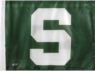 Michigan State Spartans Evergreen Enterprises Car Flag