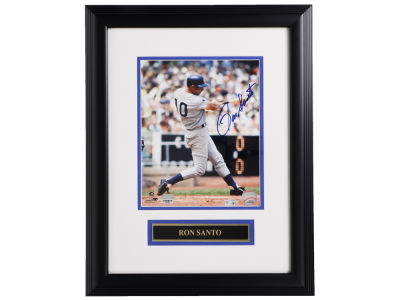 Chicago Cubs Ron Santo 8x10 Autograph Framed Photo
