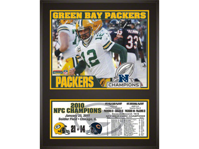 Green Bay Packers NFL 8x10 Player Plaque