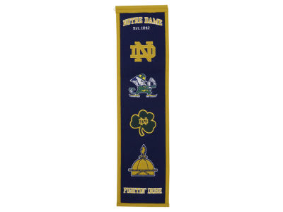 Notre Dame Fighting Irish Heritage Banner