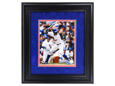 Chicago Cubs Alfonso Soriano Autographed Framed 8x10 Photo