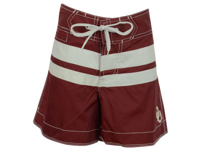 Oklahoma Sooners NCAA Women's Cardinal Boy Short Swimsuit Bottoms