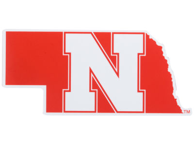 Nebraska Cornhuskers Die Cut Color Decal 8in X 8in
