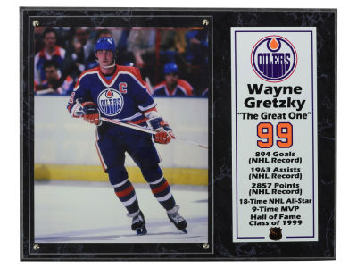Edmonton Oilers Wayne Gretzky NHL 8x10 Player Plaque