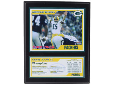 Green Bay Packers Super Bowl Sublimated Plaque