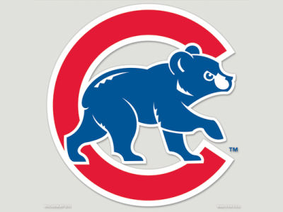 Chicago Cubs Die Cut Color Decal 8in X 8in