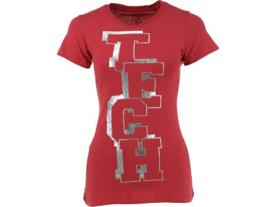 Texas Tech Red Raiders NCAA Womens Caitlin Foil Graphic T-Shirt