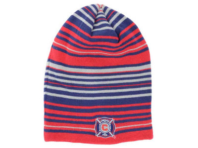 Chicago Fire adidas MLS Authentic Player Knit Hat