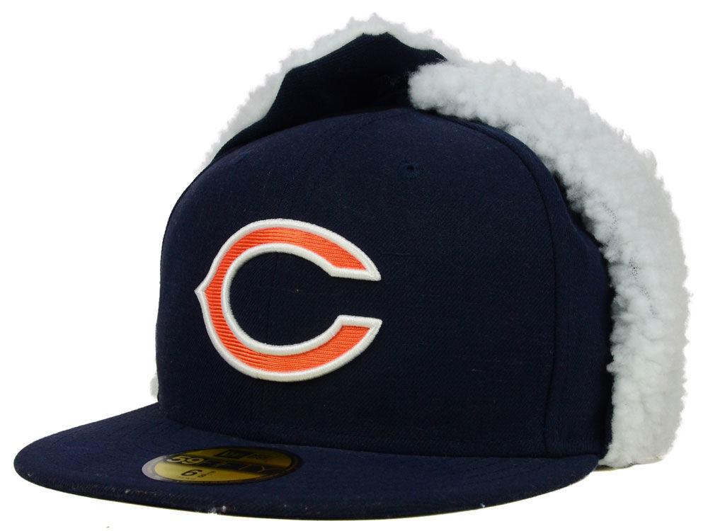 Chicago Bears New Era NFL On Field Dog Ear 59FIFTY Cap  9f7f25749