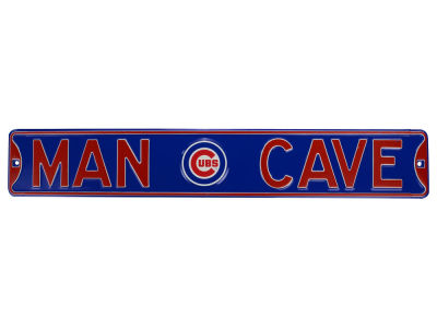 Chicago Cubs Man Cave Street Sign