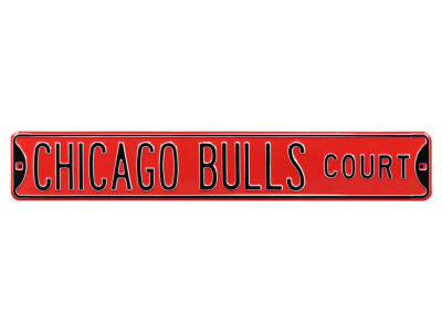 Chicago Bulls Authentic Street Sign Avenue