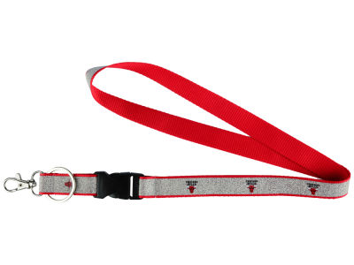 Chicago Bulls Sparkle Lanyard-Aminco