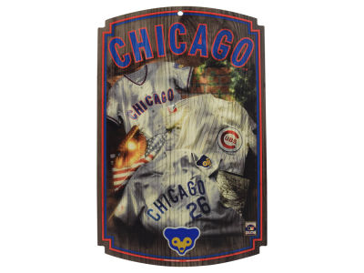 Chicago Cubs Wincraft 11x17 Wood Sign