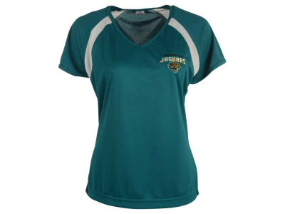 Jacksonville Jaguars NFL Women's Deal V-Neck T-Shirt