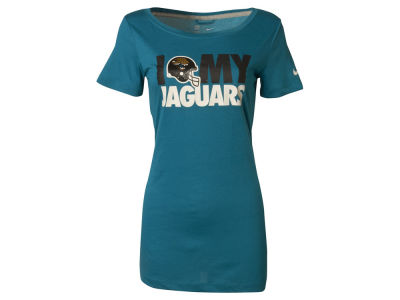 Jacksonville Jaguars Nike NFL Women's TriBlend Team Dedication T-Shirt