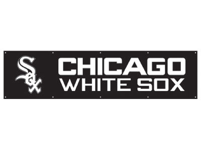 Chicago White Sox Authentic Street Signs 8-FT Banner