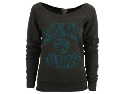 Jacksonville Jaguars NFL Women's Off the Shoulder Sweatshirt