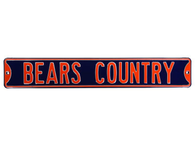 Chicago Bears Authentic Street Sign Country