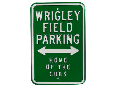 Chicago Cubs MLB Street Sign