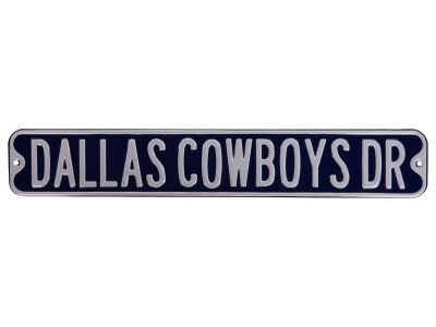 Dallas Cowboys Authentic Street Sign