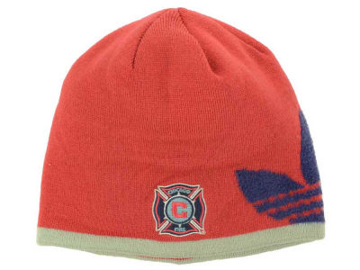 Chicago Fire adidas MLS Trefoil Knit Hat