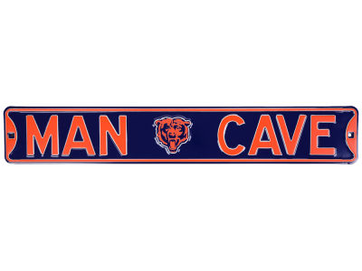 Chicago Bears Authentic Street Sign Man Cave