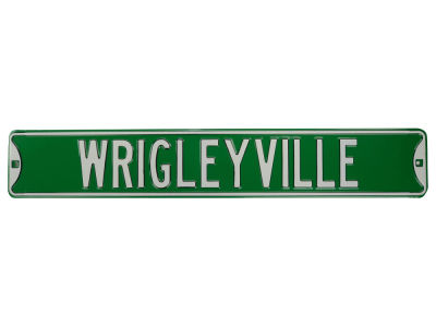 Chicago Cubs Authentic Street Sign