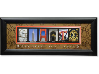 San Francisco Giants MLB Letter Art
