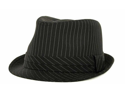 LIDS Private Label PL Pinstripe Fedora 2012