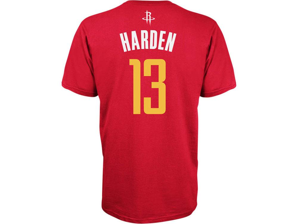 a05a4fd34 ... Houston Rockets James Harden adidas NBA Mens Player T-Shirt ...